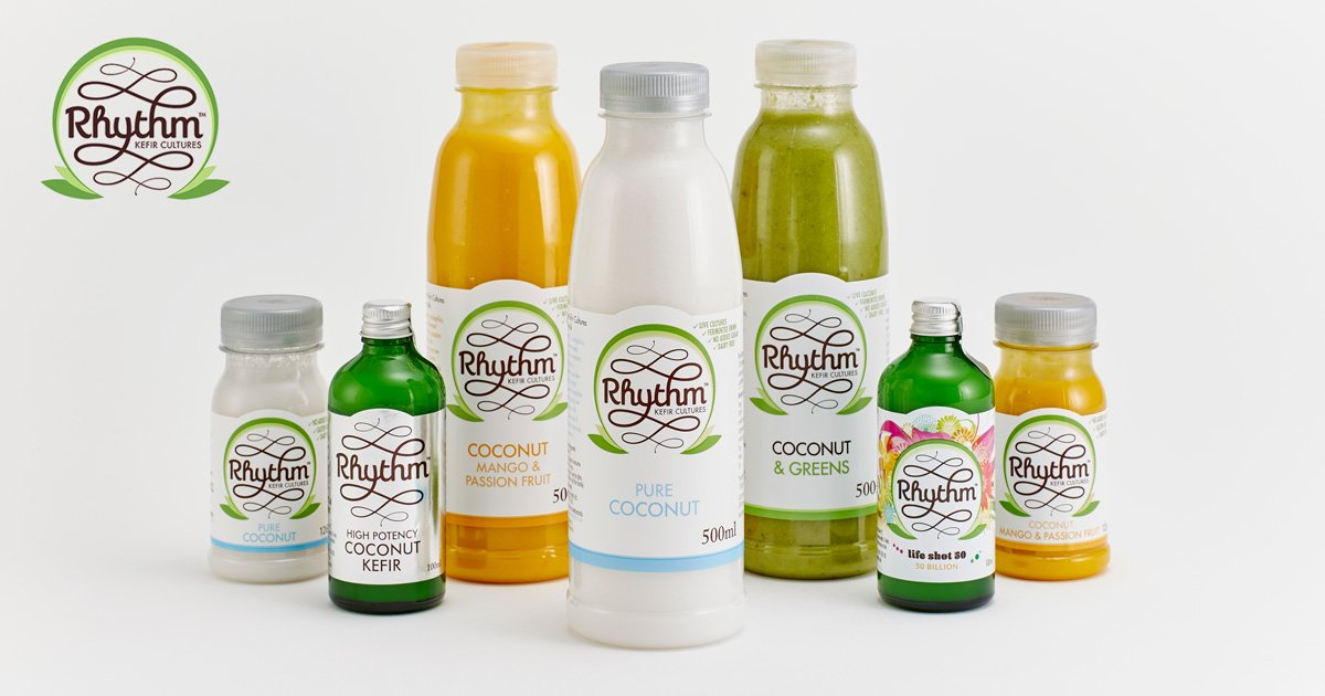 Rhythm Health - Coconut Kefir and Lactose-Free Probiotics