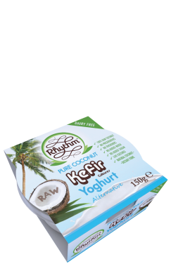 Rhythm Health Pure Coconut Kefir Yogurt Alternative – Containing Lactose Free Kefir Cultures